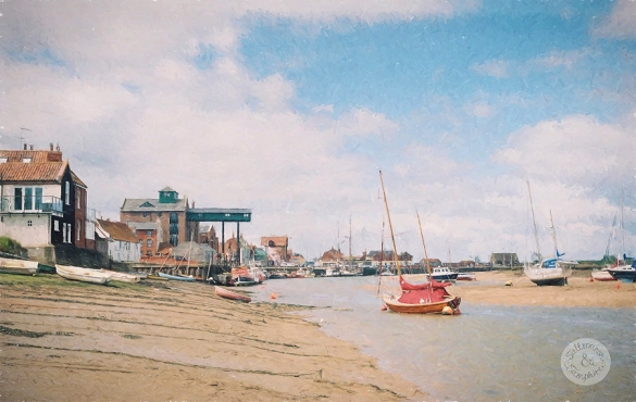 the granary at low tide
